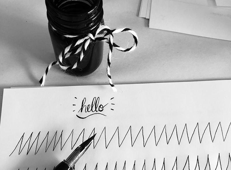 hello-calligraphy
